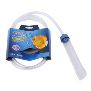Cleaning & Maintenance Aquarium Clean Siphon Vacuum Water Change Gravel Cleaner Fish Tank Pump Filter And Digestion Helping