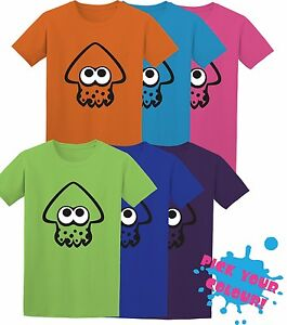 Inkling-Squid-Splatoon-Switch-Game-Inspired-Kids-Adult-T-Shirt-MULTIPLE-COLOURS