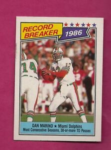 1987-TOPPS-6-DOLPHINS-DAN-MARINO-EX-MT-CARD-INV-A6273