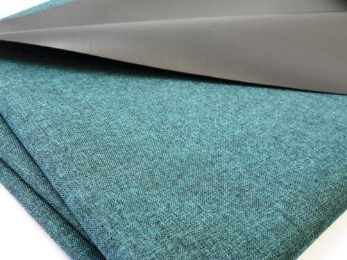 planifier tissu waterproof au mètre étanche robuste Petrol chiné EUR 9,97//m