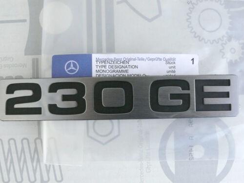 Original Mercedes W460 G-Klasse Schriftzug Typkennzeichen 230GE NEU!