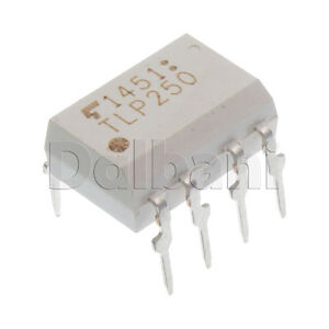 TLP250-Original-New-Toshiba-1-Ch-Logic-Output-Optocoupler-8-Pin-DIP8-0-025-Mbps