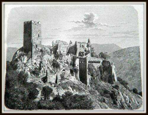 @@@ Zeichnung aus Buch von 1877 alt Nr 30 Fotos Bilder 20 cm x 30 cm @@@