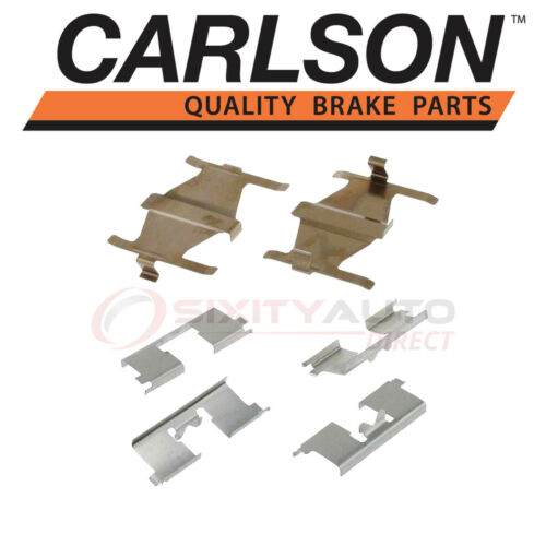 Carlson Rear Disc Brake Hardware Kit for 1991-2001 Nissan Maxima Pad ui