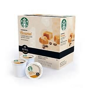 starbucks caramel light roast coffee keurig k cups 16 count pack daily. Black Bedroom Furniture Sets. Home Design Ideas