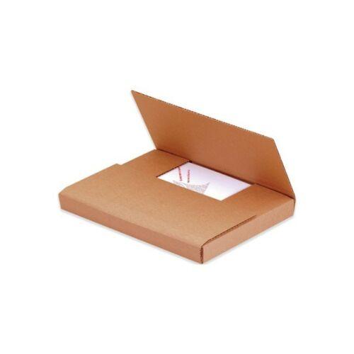 """Kraft Easy-Fold Mailers 20/""""x16/""""x2/"""" 50//Bundle"""