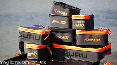 Coarse /& Carp Fishing Guru Fusion EVA Luggage /& Storage Range