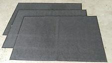 3x un grado Antideslizante 6x4 Estera de perro de suelo Trapper de suciedad taller Kennel Estable Alfombra