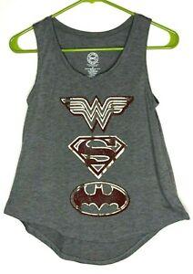 3247 Superman T-Shirt Batman The Flash Wonder Woman Justice League DC Originals