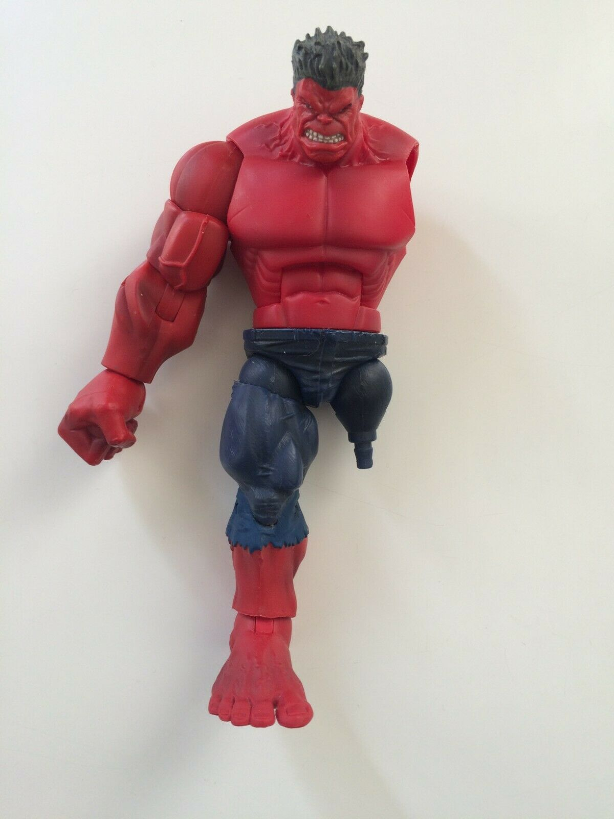 Marvel Legends Target Exclusive Red Hulk BAF figure (near complete)