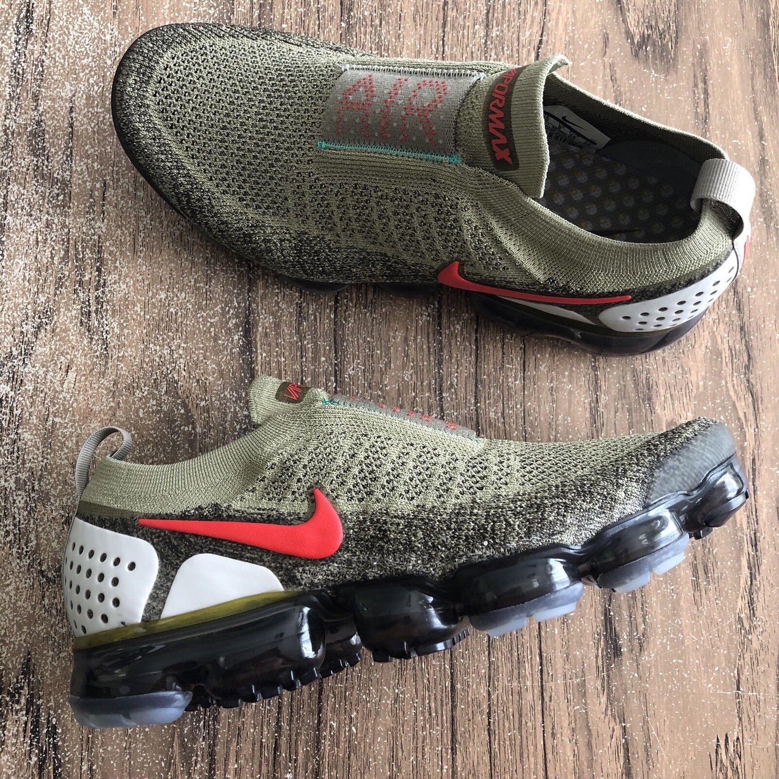 A796G Nike Air Vapormax Flyknit Moc II  AH7006-200 Men's Size 10 NEW