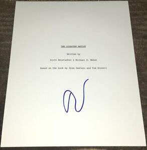 TOMMY-WISEAU-SIGNED-AUTOGRAPH-THE-DISASTER-ARTIST-113-PAGE-SCRIPT-w-EXACT-PROOF