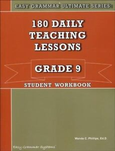 Easy-Grammar-Ultimate-Series-180-Daily-Teaching-Lessons-Grade-9-Student