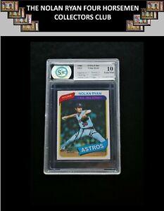 Ext Rare 1980 O-Pee-Chee #303 SP Nolan Ryan GEM Mint 10 OPC Angels Astros Mets