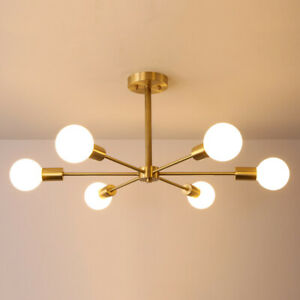 Chandelier 6 Lights Ceiling Lighting