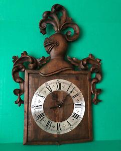 Spanish Conquistador Knight Wooden Wall Clock NEW MOVEMENT Custom Made 27IN Tall
