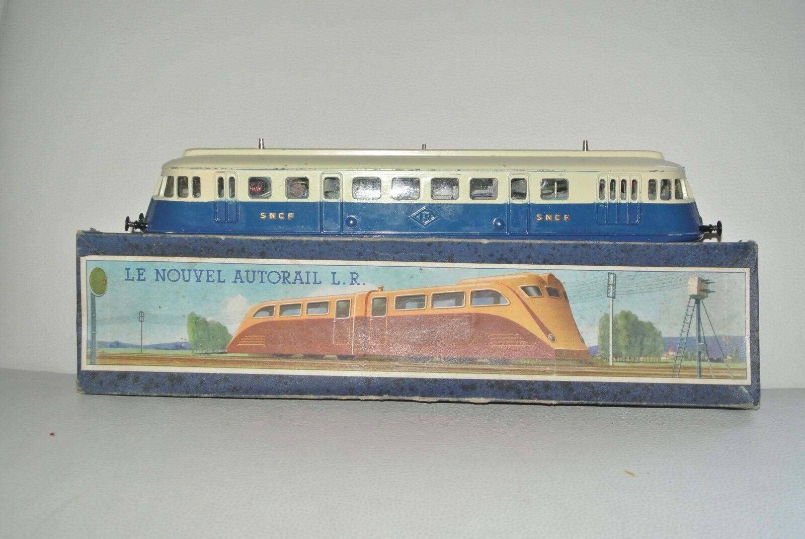 compra en línea hoy Ancien jouet motrice LR autorail échelle 0 ancien train    avec  boite  toma