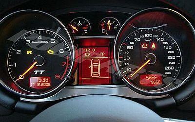 Audi TT MK2 quattro s-line 8J TTs TTRS 3.2 alu trim frame interni tacho tachimet