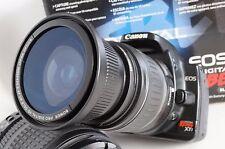Ultra Wide Angle Macro Fisheye Lens for Canon Eos Digital Rebel 58 52mm 50mm 35