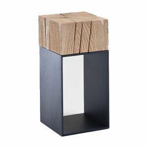 Kleiner Tisch Altholz.Details Zu Hartmann Massivholz Beistelltisch Altholz Blumensäule Kleiner Wohnzimmertisch