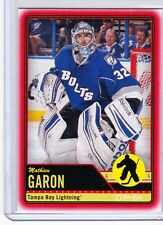 12-13 2012-13 O-PEE-CHEE MATHIEU GARON RED OPC WRAPPER REDEMPTIONS 424 LIGHTNING