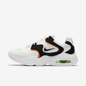 New Nike Air Max 2X Shoes Sneakers (CK2943-103) - White/ Black ...