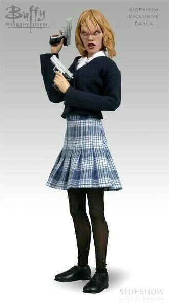 SIDESHOW EXCLUSIVE DARLA BUFFY THE VAMPIRE RARE 12  TV FIGURE NEW SEALED Blau