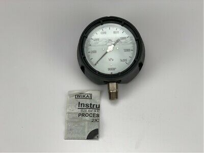 23353410000PSI12NPTLM WIKA 233.53-4-10000PSI-1//2NPT-LM NEW IN BOX