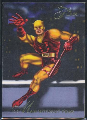 1994 Flair Marvel Annual Trading Card #14 Man without Fear