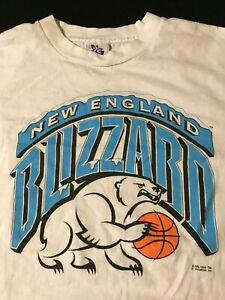 Vintage-1996-New-England-Blizzard-T-Shirt-ABL-Womens-Basketball-WNBA-Hartford