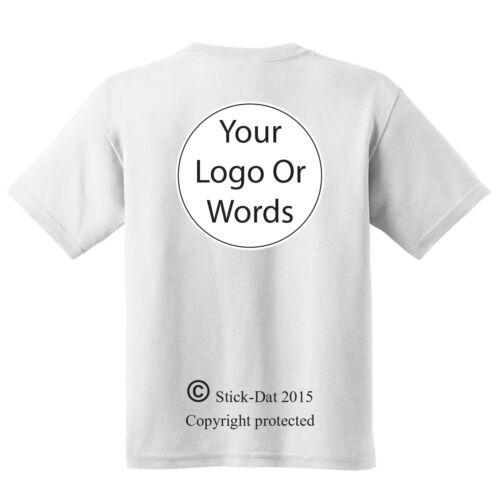 Custom logo work team sports 100/% cotton Mens Shirts Gildan Australian business