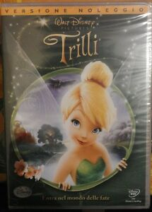 Trilli-Dvd-Nuovo-Sigillato-Rent-Classico-Disney-Trilly