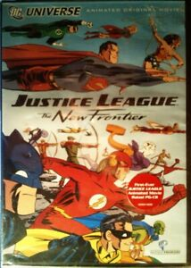 JUSTICE LEAGUE The NEW FRONTIER (2008) First Ever Justice ...