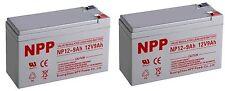 NPP 12V 9 Amp 9Ah Battery for APC BACK-UPS XS1500 RBC109 Replaces PS-1290 F2 2