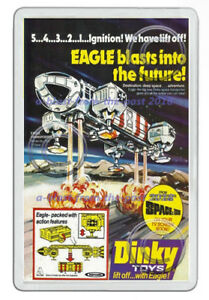 DINKY-SPACE-1999-EAGLE-TRANSPORTER-359-ADVERT-ARTWORK-NEW-JUMBO-FRIDGE-MAGNET