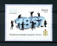 Iceland 2017 MNH Reykjavik Craftsmen Guild 150 Years 1v Set Stamps