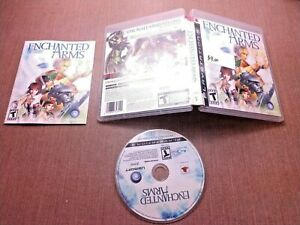 Sony-PlayStation-3-PS3-CIB-Complete-Tested-Enchanted-Arms-Ships-Fast