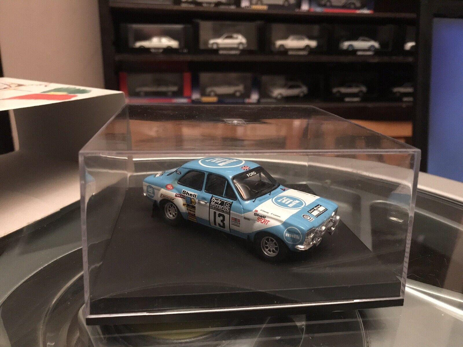 Trofeu Ford Escort Mk1 RS1600 1st RAC 1973 Makinen 1 43 MIB
