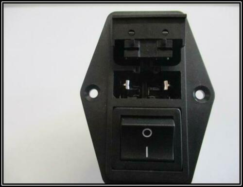 AC-Strom-Eingangsmodule Flansch 250V 6A schwarz FN284-6-06 1 Stück