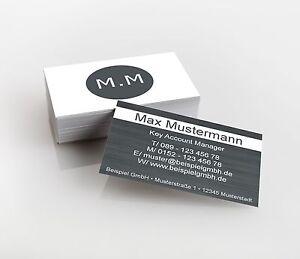 Details Zu 2 500 Visitenkarten Beidseitig 350g M Premiumqualität Direkt Hier Gestalten