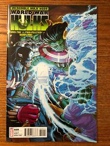 The-Incredible-Hulk-609-Vol-3-Marvel-Comics-2010-NM-Greg-Pak-World-War-Hulks