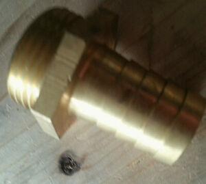 Schlauchtülle Außengewinde AG 1 Zoll Schlauch 22mm Schlauchnippel M16911
