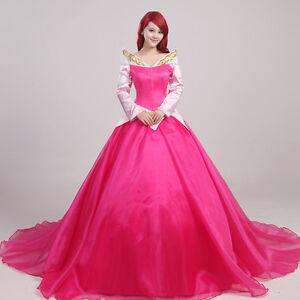 Kleid lang rot