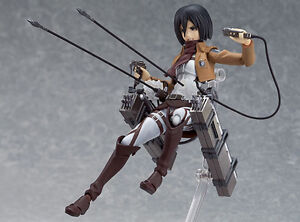 Anime-Attack-On-Titan-Action-Figure-Mold-Figma-Mikasa-Shingeki-Kyojin-Collection
