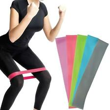 Resistance Mini Band Stretch Tube Loop Fitness Yoga Top Exercise Workou H1A9