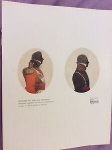 Vintage-Book-Print-Officers-of-the-60th-Regiment-1928