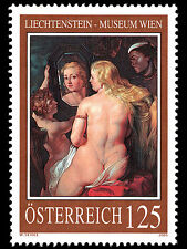 "Rubens painting ""Venus at a Mirror"" mnh stamp 2005 Austria #1989 nude"