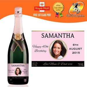 PERSONALISED-PINK-CHAMPAGNE-PHOTO-BOTTLE-LABEL-BIRTHDAY-WEDDING-ANY-OCCASION