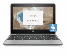 "HP 11-v025wm, 11.6"" Touch Chromebook, Intel N3060, 4GB RAM, 16GB eMMC Storage"