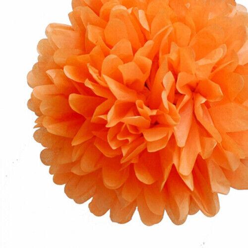 "5 Pcs Tissue Paper Pom Poms Flower Balls Wedding Decoration  8/"" 12/"" 16/'/'"